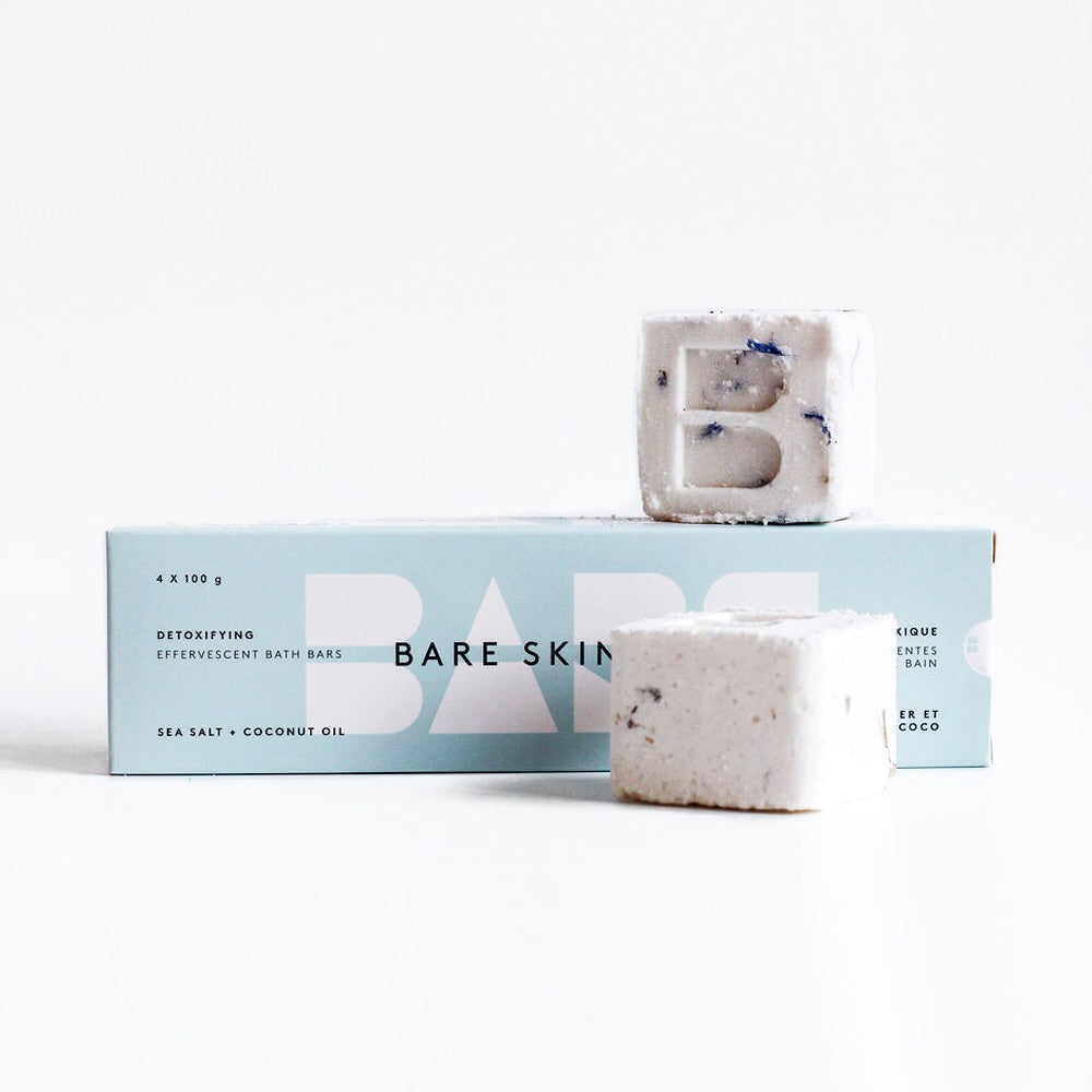 Detoxifying bath bars
