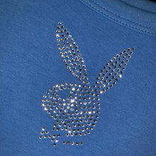 Load image into Gallery viewer, Royal blue playboy tank