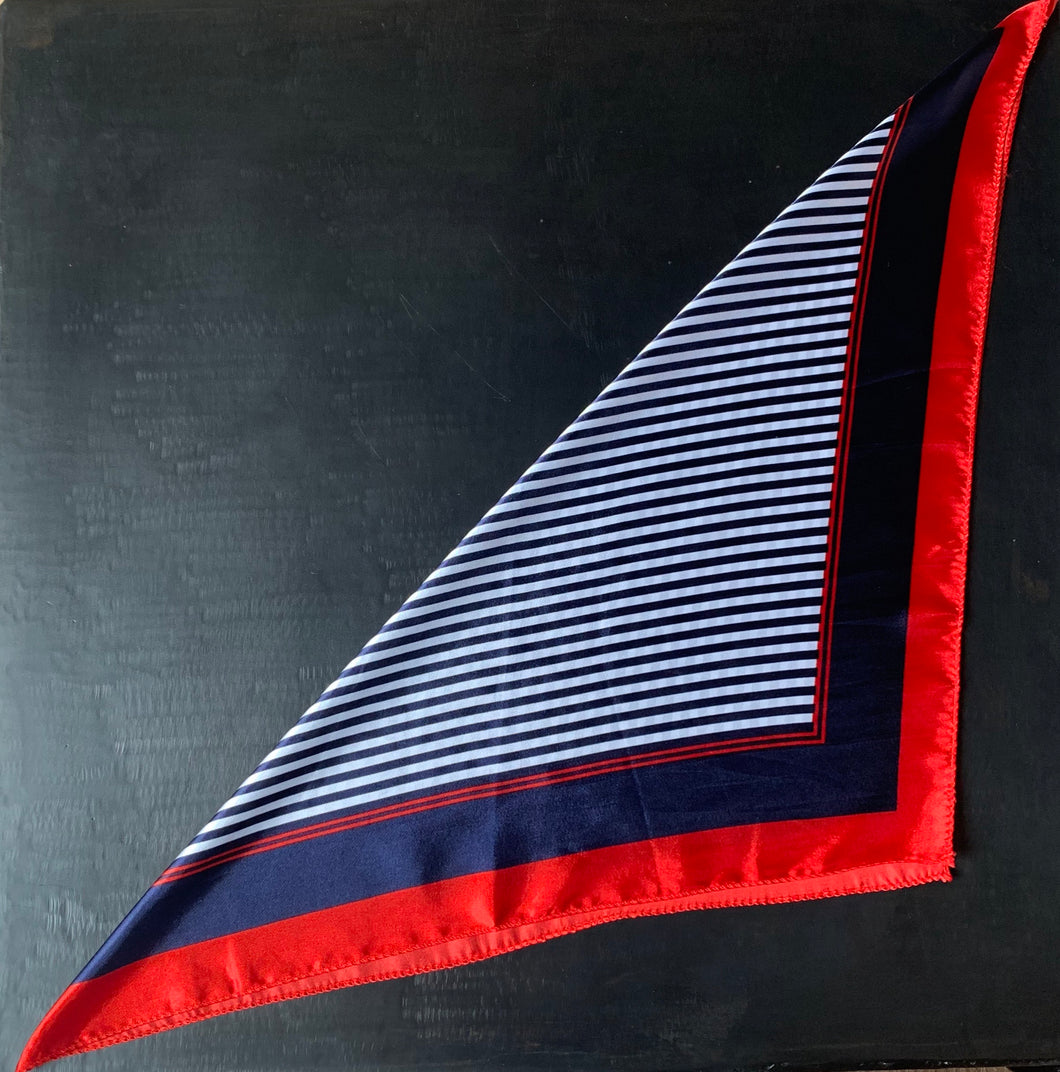 The stripe bandana