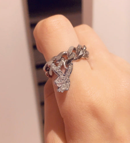 Crystal Playboy Ring