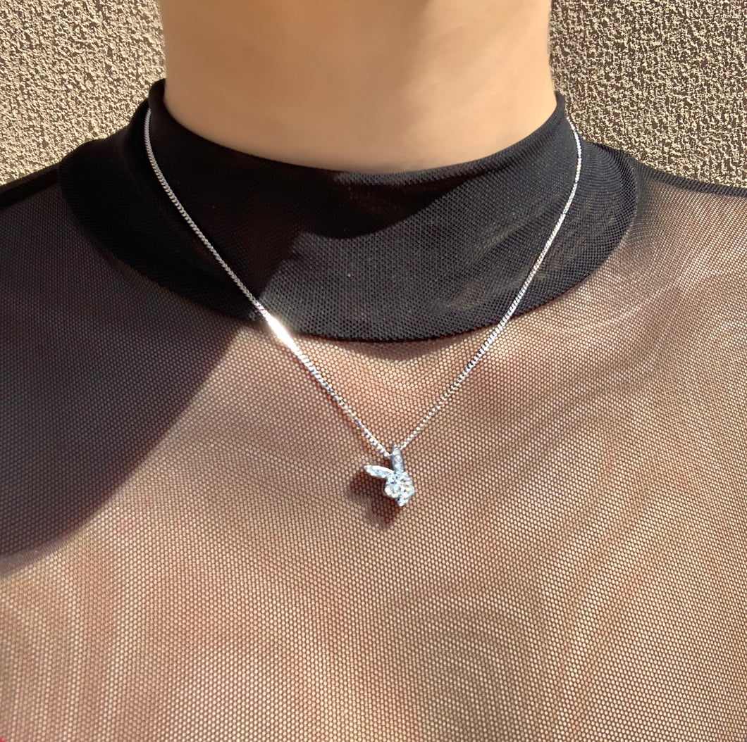 Crystal playboy necklace