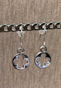 The LV charm Earrings (circle)