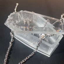 Load image into Gallery viewer, Clear coffin jewelry box