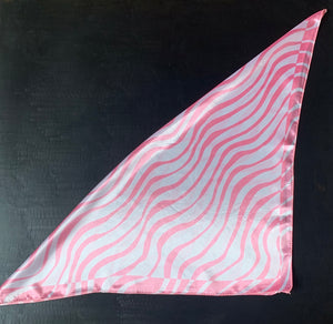 The pink stripe bandana