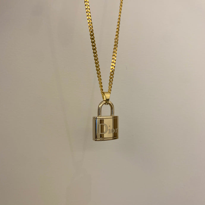 Dior Lock Necklace