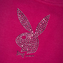 Load image into Gallery viewer, Hot pink playboy tank