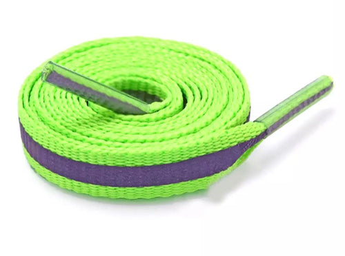 Neon Green 3M Reflective laces