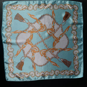The Turquoise chain bandana