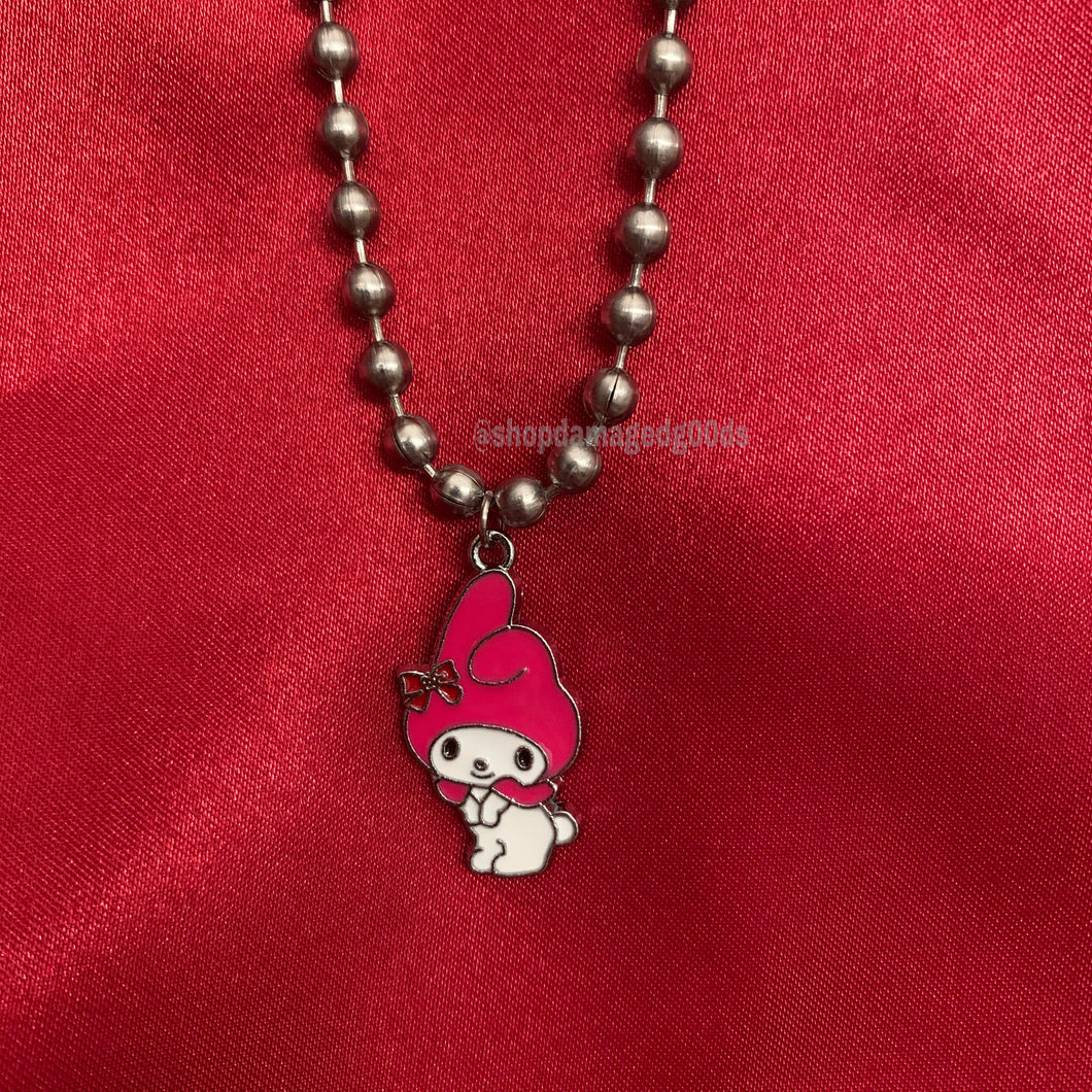 My melody ball chain choker (hello kitty sanrio)
