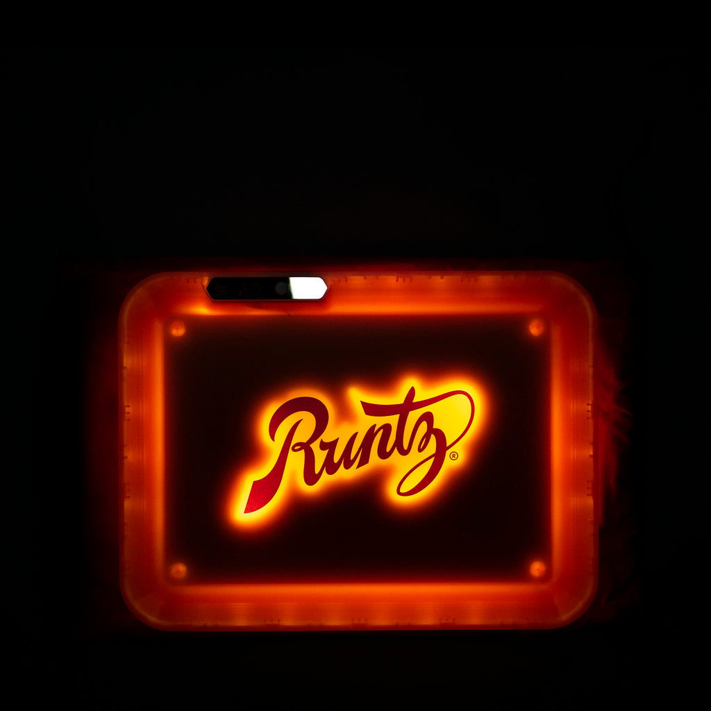 GLOW TRAY X ORANGE RUNTZ
