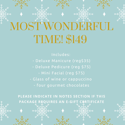 The Most Wonderful Time of the Year Package