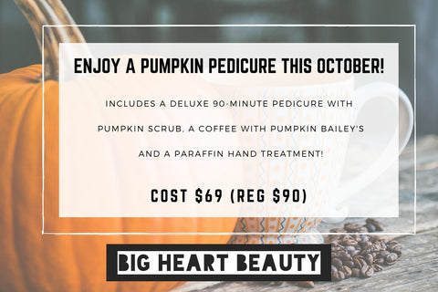 Pumpkin Pedicure Special!