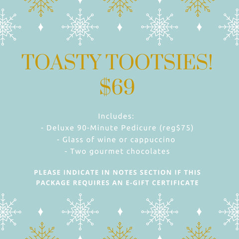 Toasty Tootsies Package