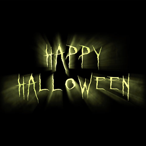 Happy Halloween Text - Digital Download