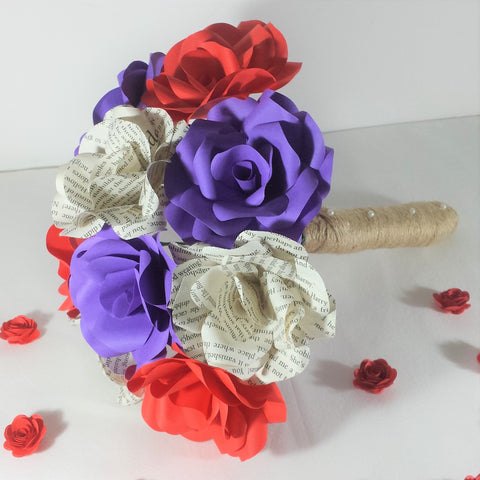 Coloured Paper Flowers Paper Flowers By Nicky