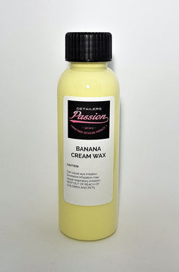 Detailers Passion Banana Cream Wax 100ml