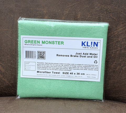 Klin Korea Green Monster Cloth 1 PER CUSTOMER