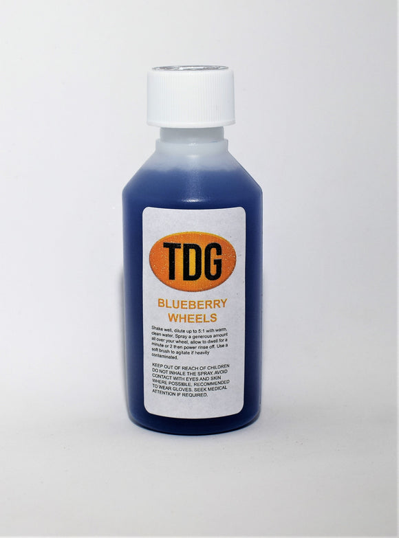 TDG Products Blueberry Wheel Cleaner 50ml