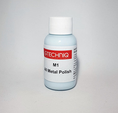 Gtechniq M1 All Metal Polish 30ml