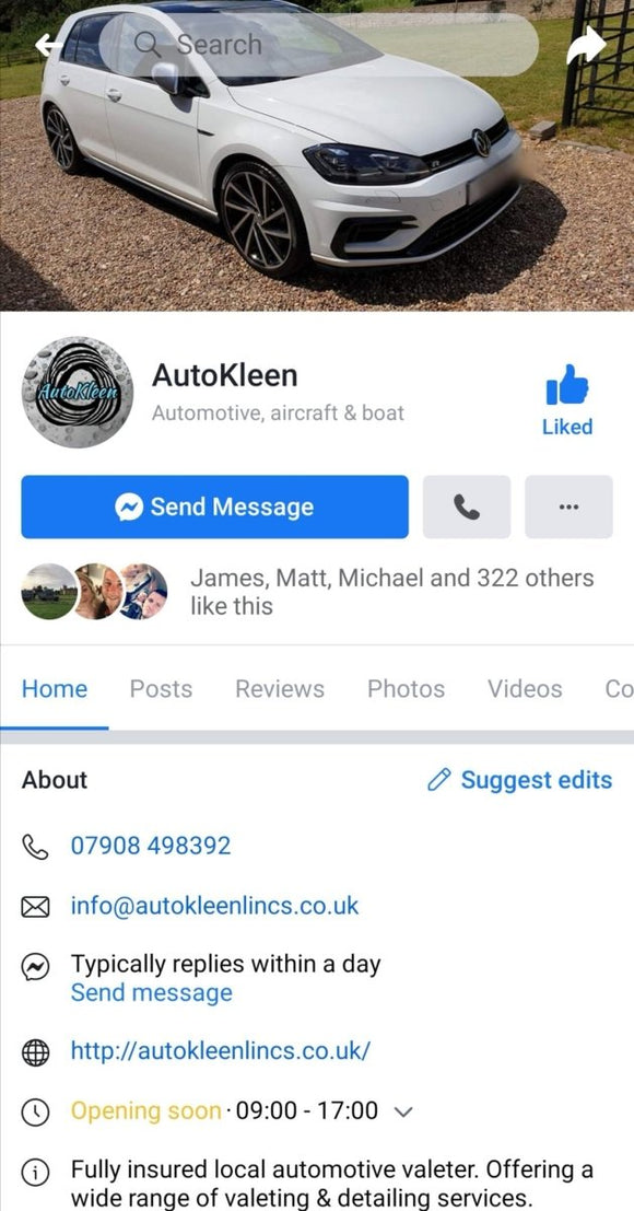 AutoKleen (Lincolnshire) - Clean Your Ride