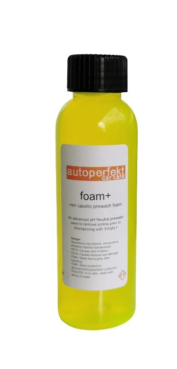 AutoPerfekt Foam+ Non Caustic Snowfoam 100ml - Clean Your Ride