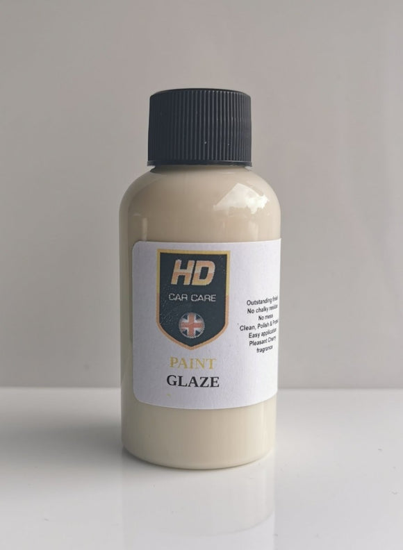 HD Valeting High Gloss ALL-IN-ONE Paint Glaze 50ml - Clean Your Ride