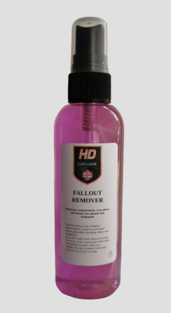 HD Valeting Iron Fallout Remover Gel 100ml - Clean Your Ride