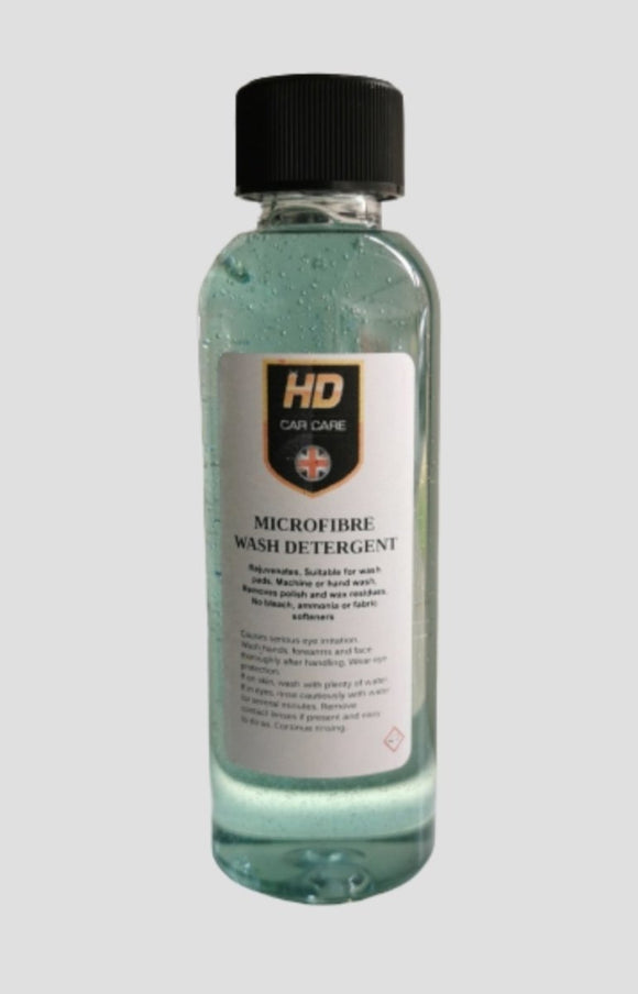 HD Valeting Microfibre & Pad Detergent 100ml - Clean Your Ride