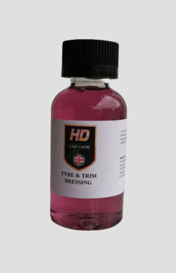 HD Valeting Tyre & Trim Dressing 50ml - Clean Your Ride