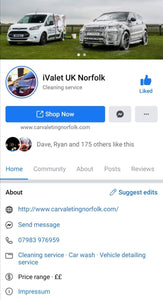 iValet UK Norfolk - Clean Your Ride