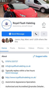 Royal Flush Valeting (Cheshire) - Clean Your Ride