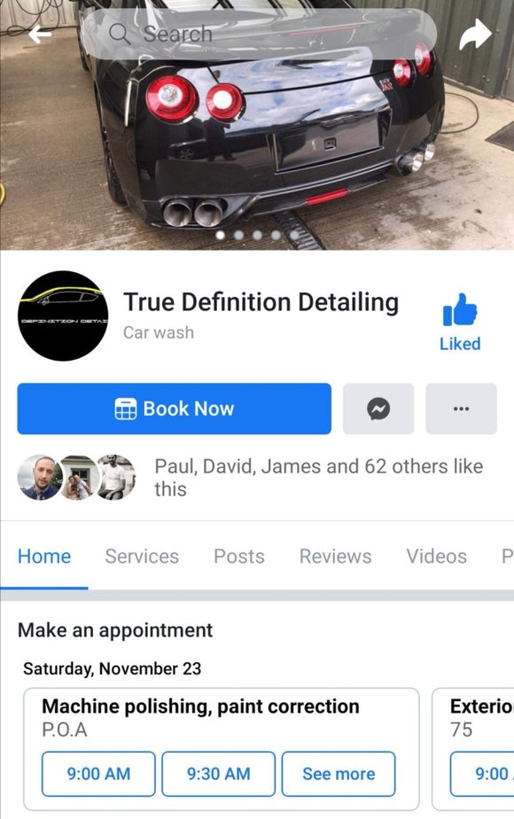 True Definition Detailing (Bucks & Herts) - Clean Your Ride
