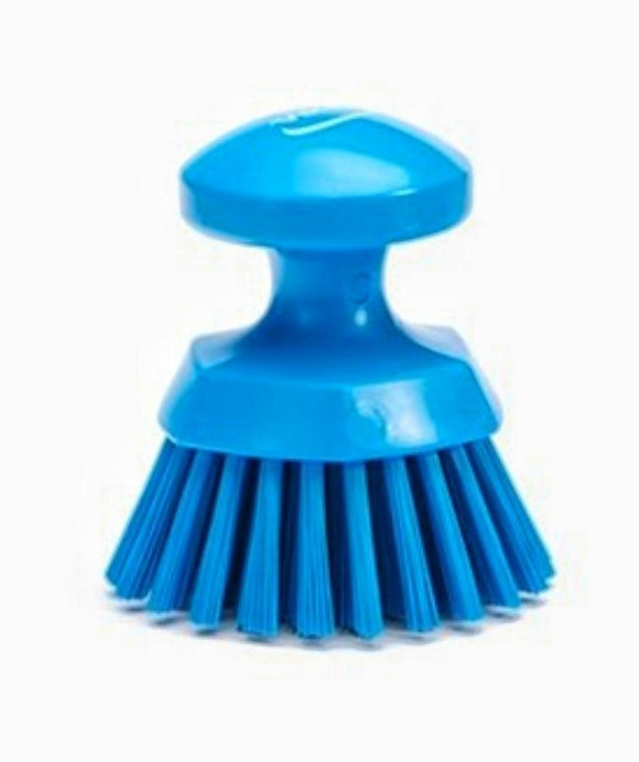 Vikan 110mm Round Hand Scrub Brush 38853 - Clean Your Ride