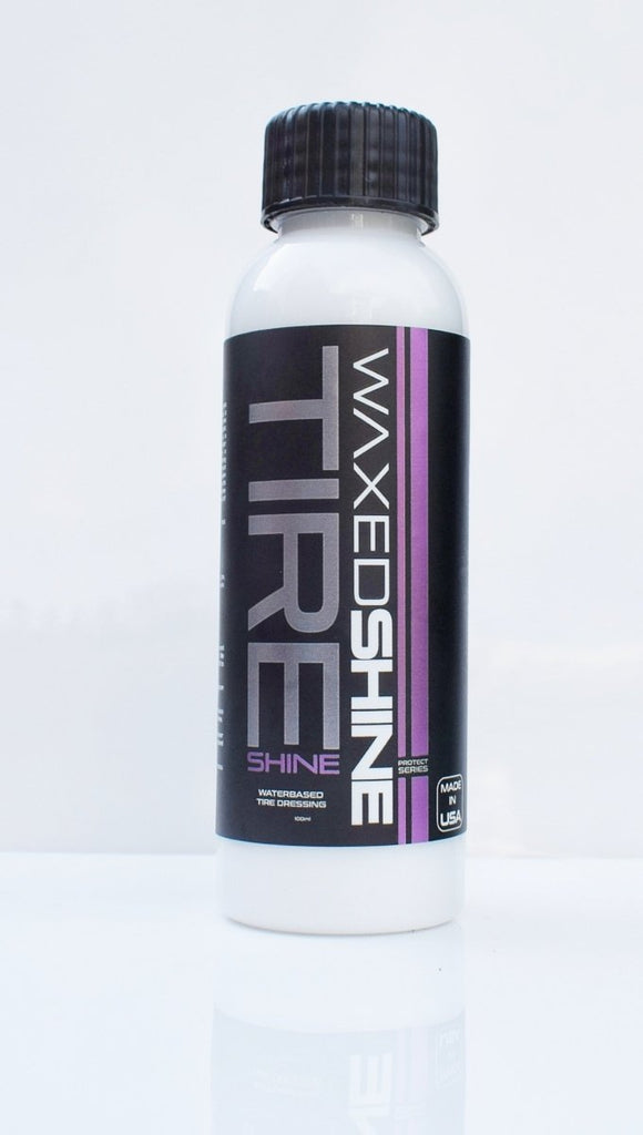 WAXEDSHINE TIRE SHINE | WATERBASED 100ml - Clean Your Ride