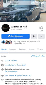 Wizards of Wax (N. Wales & Manchester) - Clean Your Ride