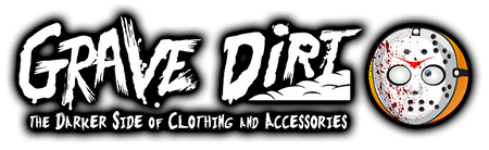 Grave Dirt Clothing and Accessories Website Logo