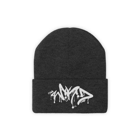 Tha Wikid One Logo • Knit Beanie - Grave Dirt Clothing