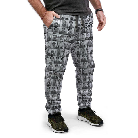 Killer Series | Black & Grey Joggers - Grave Dirt Clothing