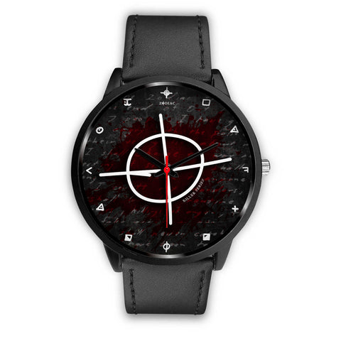 Killer Series | Zodiac Killer Leather Watch - Grave Dirt Clothing