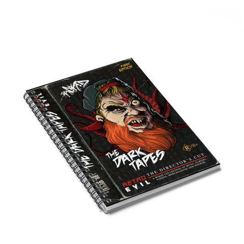 The Dark Tapes Spiral Notebook - Grave Dirt Clothing