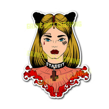 "Jessica Stabbit • 3"" Vinyl Stickers"