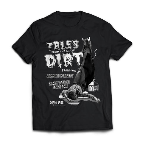 Tales from the Grave Dirt • Unisex T-Shirt Featuring Scout Taylor-Compton