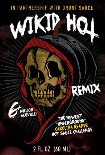 Wikid Hot Remix 🔥 Carolina Reaper Hot Sauce 6 Million Scoville