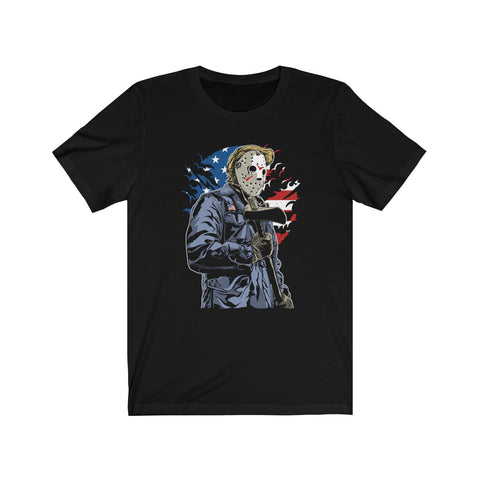American Slasher • Unisex Tee - Grave Dirt Clothing