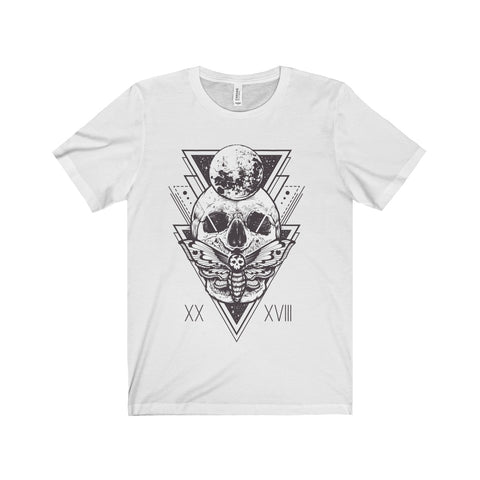 Death Head • Unisex Tee-Grave Dirt Clothing