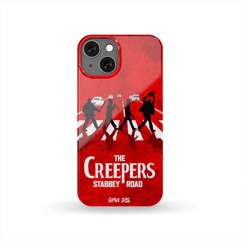The Creepers | Stabbey Road • Phone Case-Grave Dirt Clothing