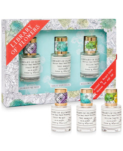 Library of Flowers Perfume Gift Set
