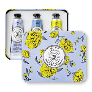 La Chatelaine Hand Cream Trio Tin