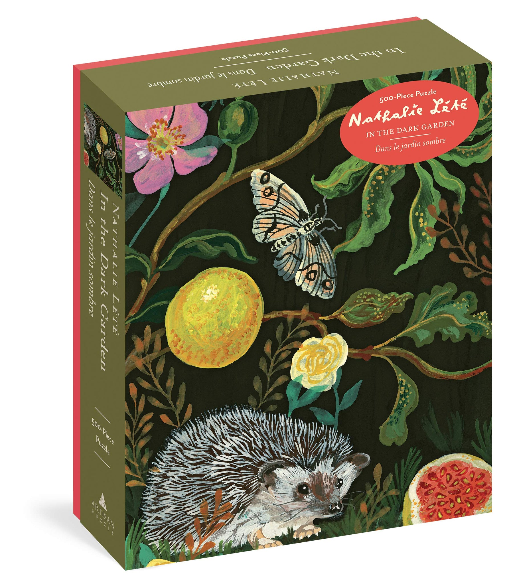 Nathalie Lete In the Garden Hedgehog Puzzle