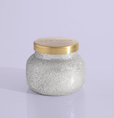 Frosted Fireside Small Jar
